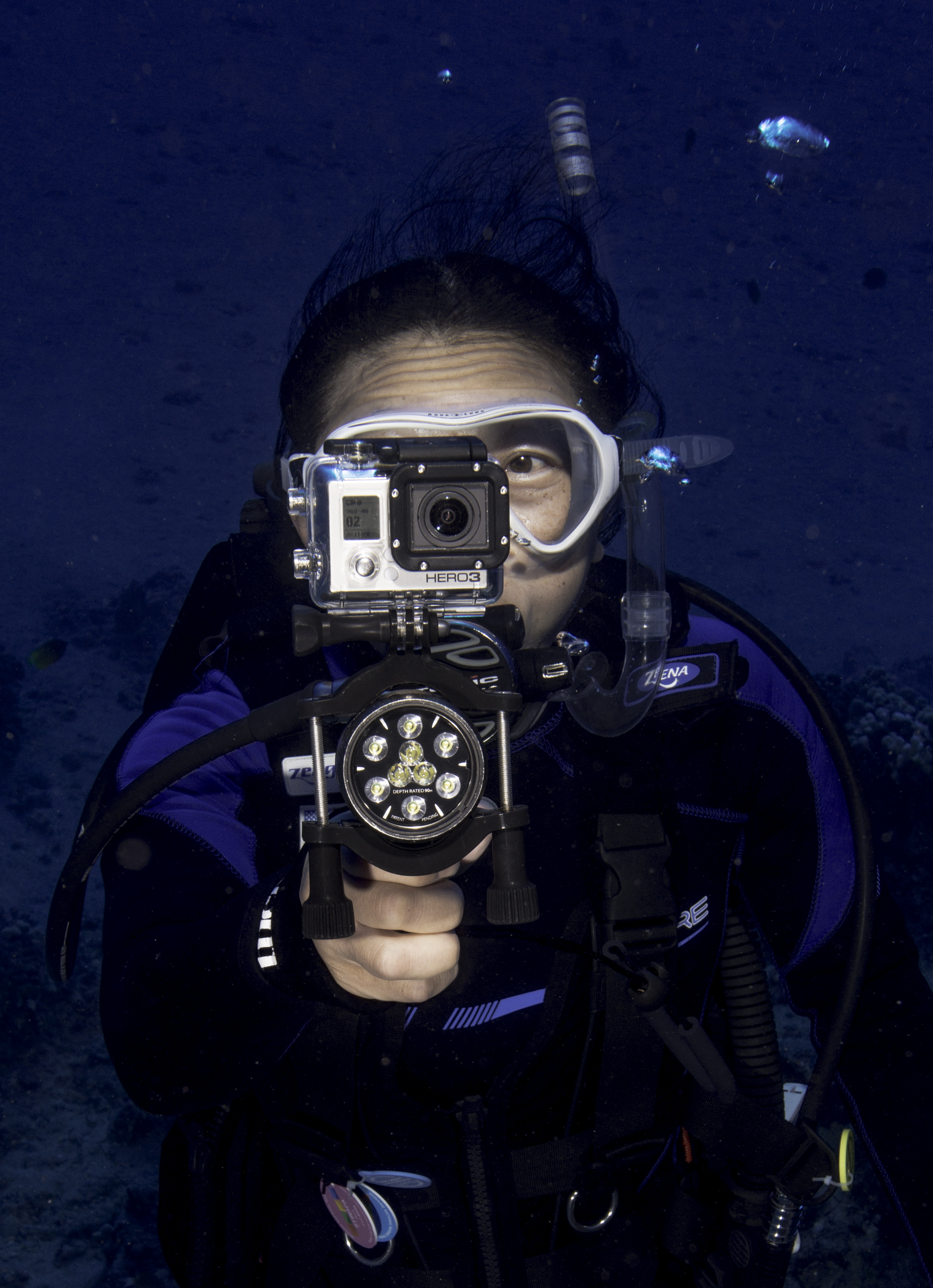 Ruth Aims GoPro